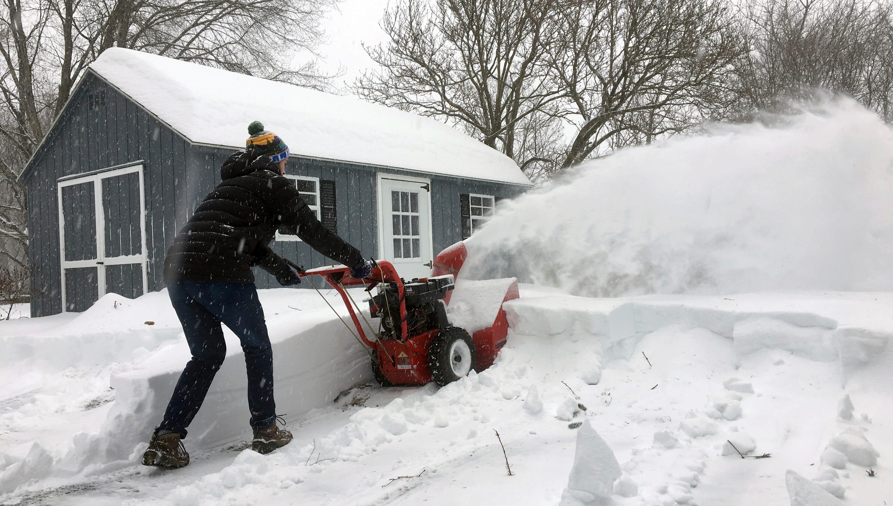 Winter storm: Snow, wind, cold wreak havoc in Midwest