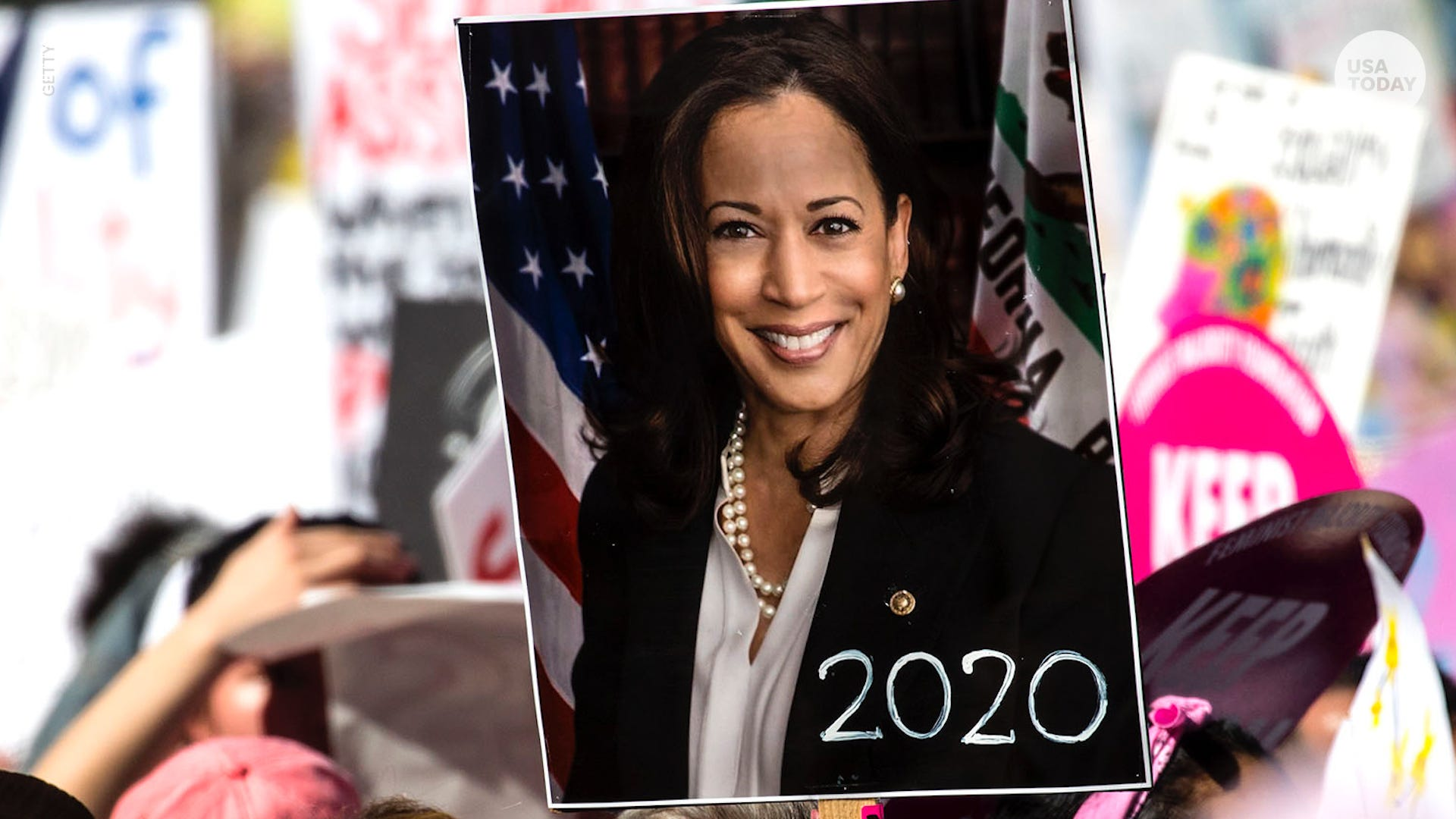 4 things to know about Senator Kamala Harris