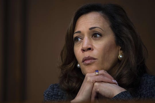 "California Sen. Kamala Harris announced her bid for president on ""Good Morning America."""