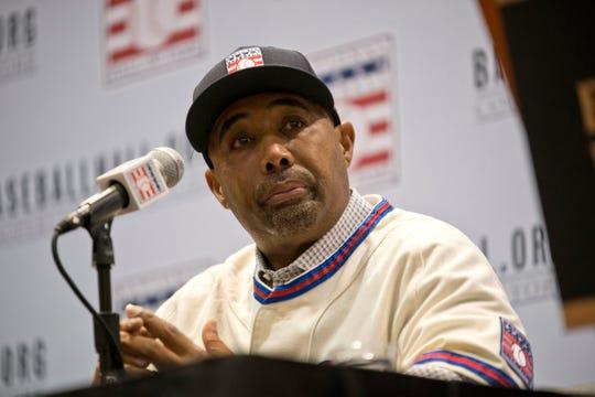 National Baseball Hall of Fame inductee Harold Baines