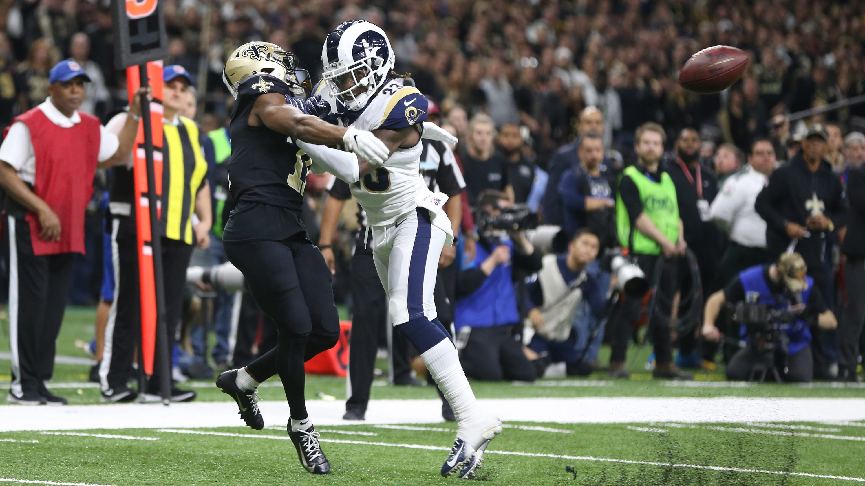 c1af0a10c NFL referee controversies  No-call vs. Rams is officials  latest gaffe