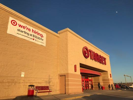 Appleton's east side Target is getting a $1.1 million renovation.