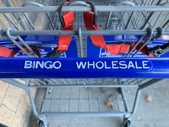 Bingo Wholesale opened its store on Route 70 in Lakewood on Tuesday.