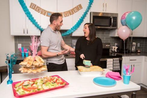 Villa Italian Kitchen offers a new way to do a gender reveal - via lasagna.