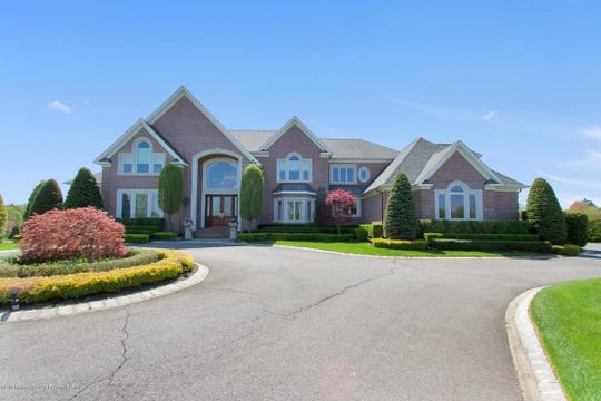 Luxurious custom home at 5 Hambletonian Drive in Colts Neck.