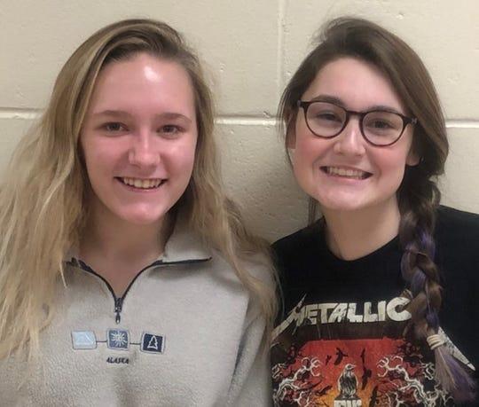 Brooke Bascom and Kelly Sweeney, Grade 11,Point Pleasant Borough High School, Teacher:Shannon Orosz