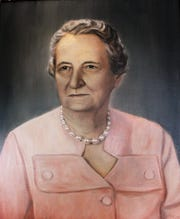 Mrs. E.T. Brooks, first president of the Abilene Woman's Club, 1929-33.
