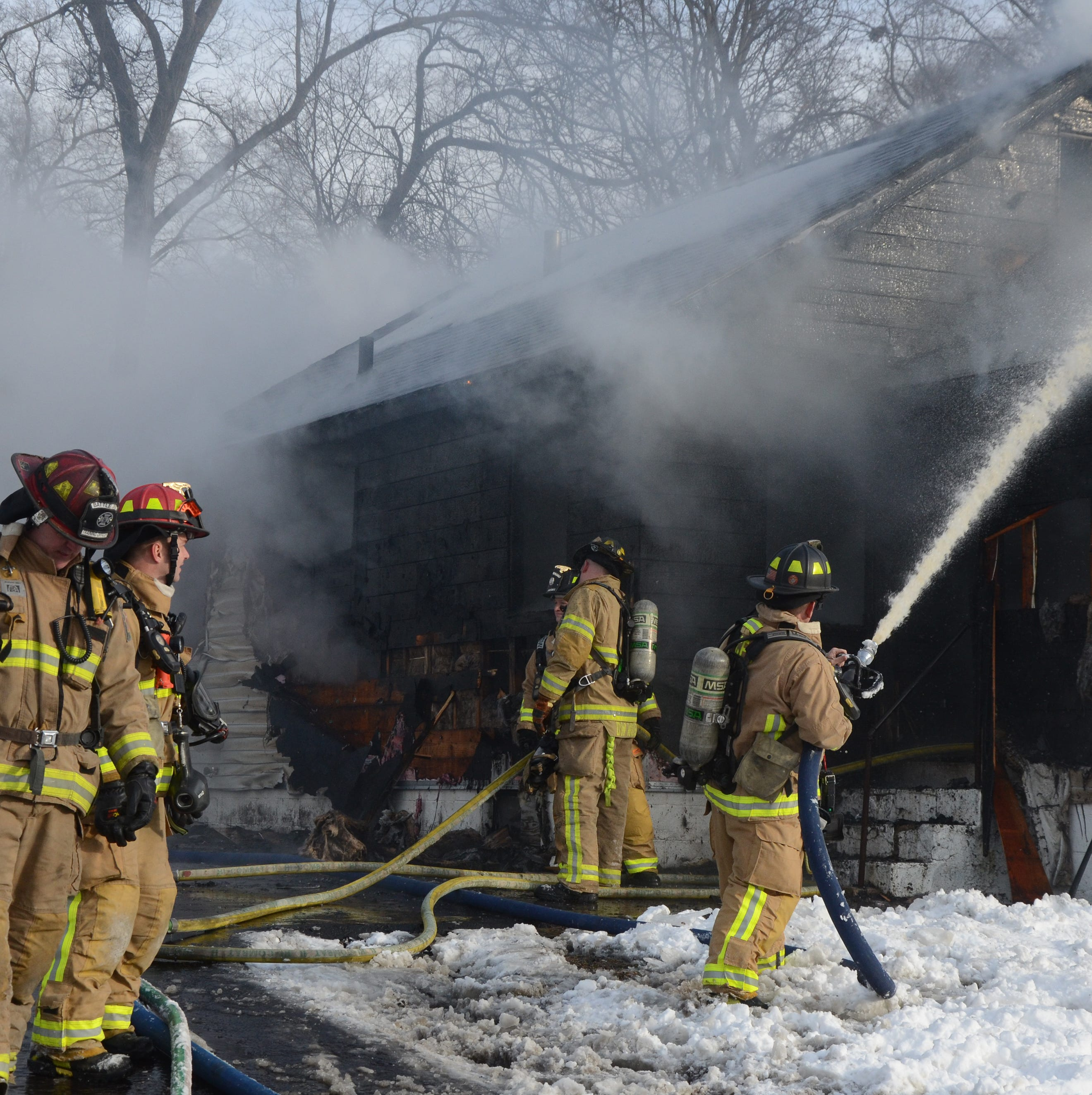 Police & Fire: House heavily damaged in morning fire