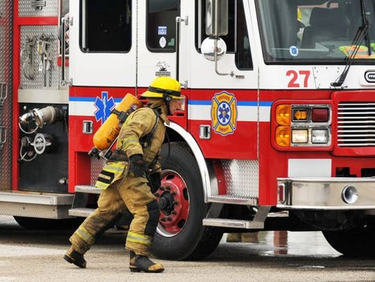 Brevard County Fire Rescue crews responded to a home with a burn patient Thursday afternoon. FILE.