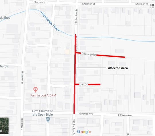 A water main break in Galion has led to a boil advisory in parts of the town.