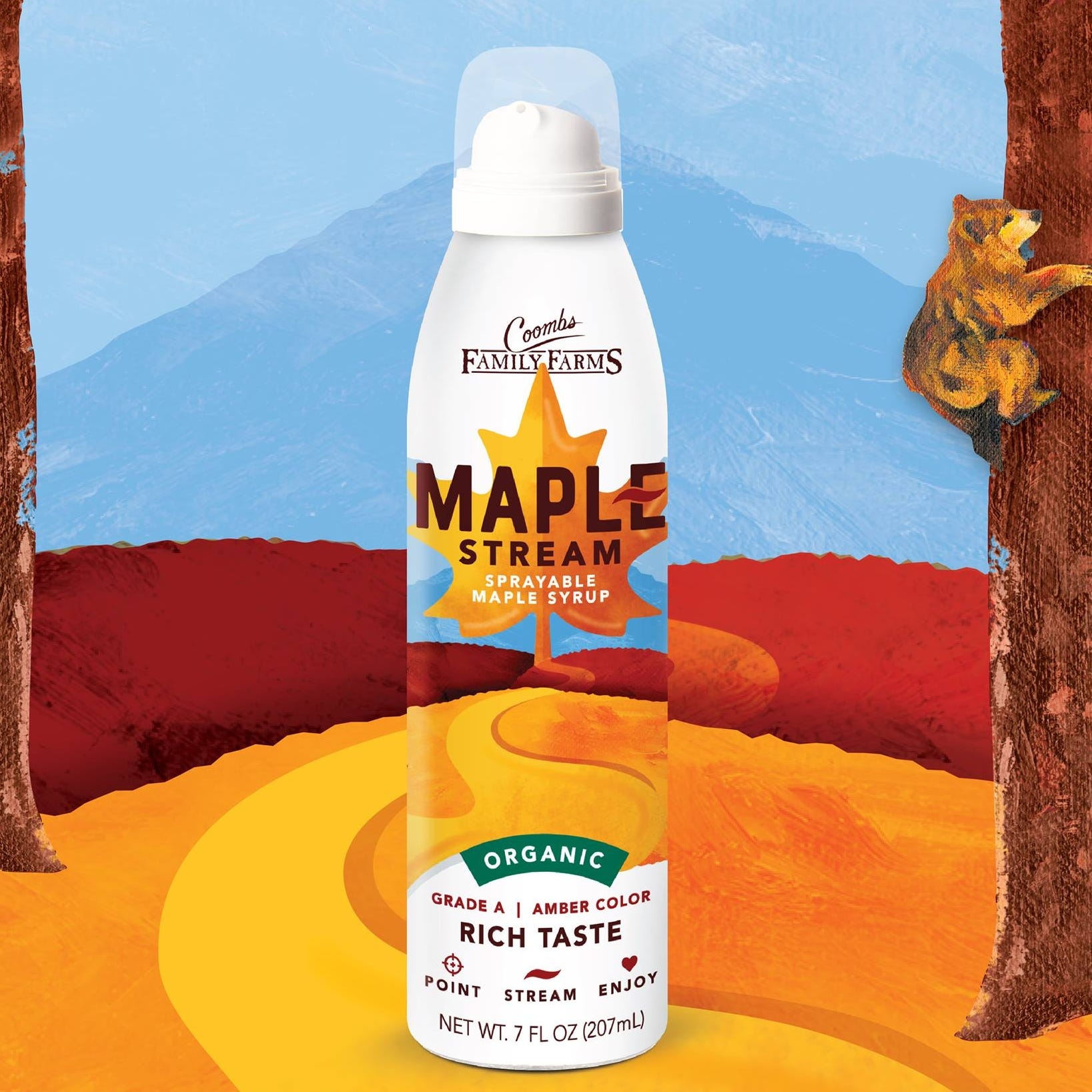Sprayable maple syrup? Vermont company says it's the future