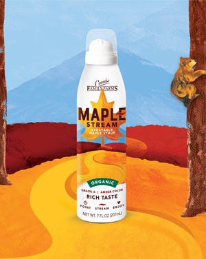 Coombs Family Farms Maple Stream bottle.