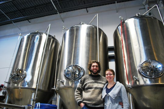 Ricky and Kelly Klein at Groennfell Meadery in Colchester in 2013.