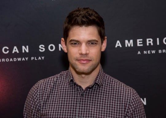 """Jeremy Jordan attends the """"American Son"""" Broadway cast press meet and greet at New 42nd Street Studios on Friday, Sept. 14, 2018, in New York. (Photo by Charles Sykes/Invision/AP)"""