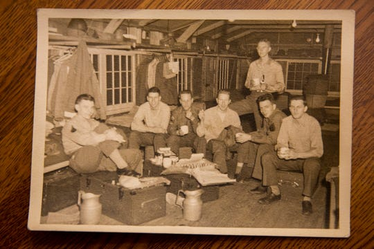 Provided photo of Dr. Al Miller and his fellow soldiers during his time in the United States Army.