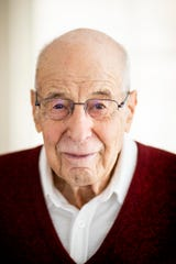"""Dr. Al Miller, 96, fled Nazi Germany as a boy. """"Words are so powerful,"""" Miller says. """"With words you can do just about anything. You can incite people. You can mark them. You can insult them. You can demonize them. You can persecute them -- all with words. And it doesn't take many words. And you can do the opposite."""""""