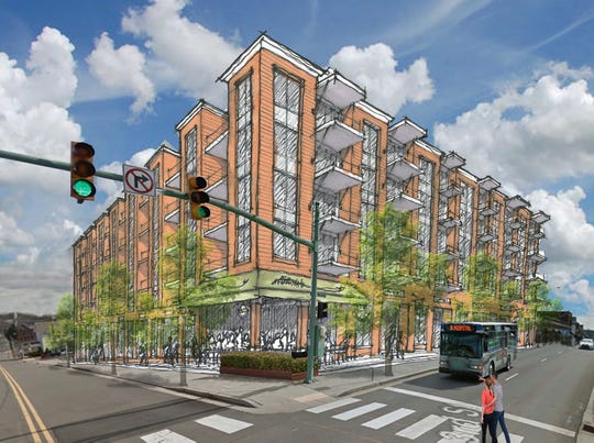 Plans for a 100,000-square-foot Third and Main mixed-used development overlooking Downtown Commons are still in the works.