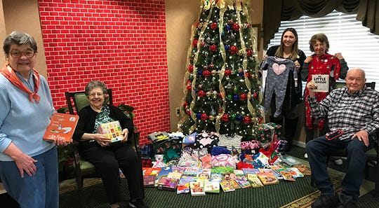 This past holiday season, Brandywine Living at Middlebrook Crossing partnered with the Pajama Program by hosting a Pajama and Book Drive to benefit children in need throughout New Jersey.