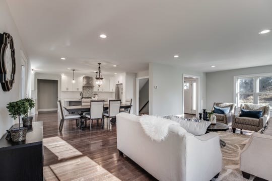 An updated custom homeis for sale at$875,000 that issituated on just over two level acres bordered by woodlands in the Basking Ridge section of Bernards Township.