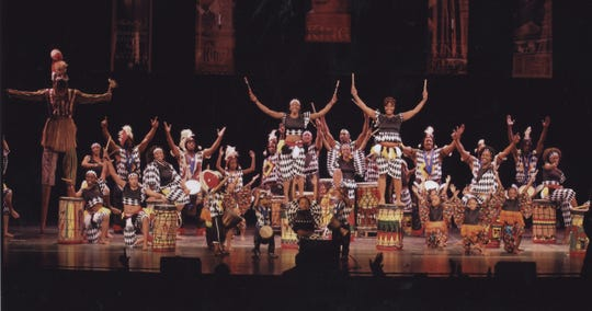 The Universal African Dance and Drum Ensemble.