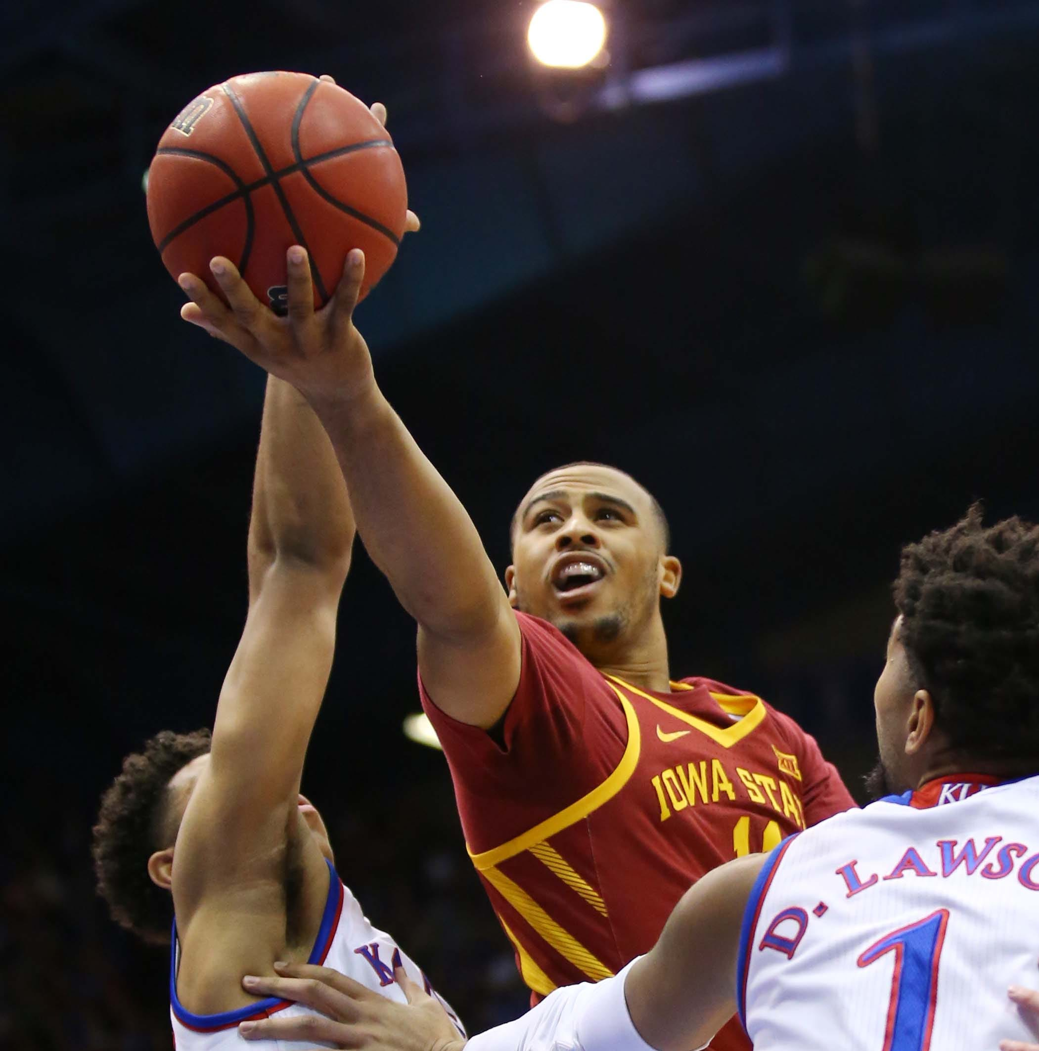 Iowa State fails to complete a season sweep of Kansas