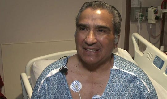 Bernie Rangel was hit with cardiac arrest while officiating a basketball game.