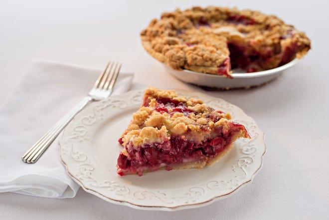 Cherry crumb pie from Grand Traverse Pie Company.