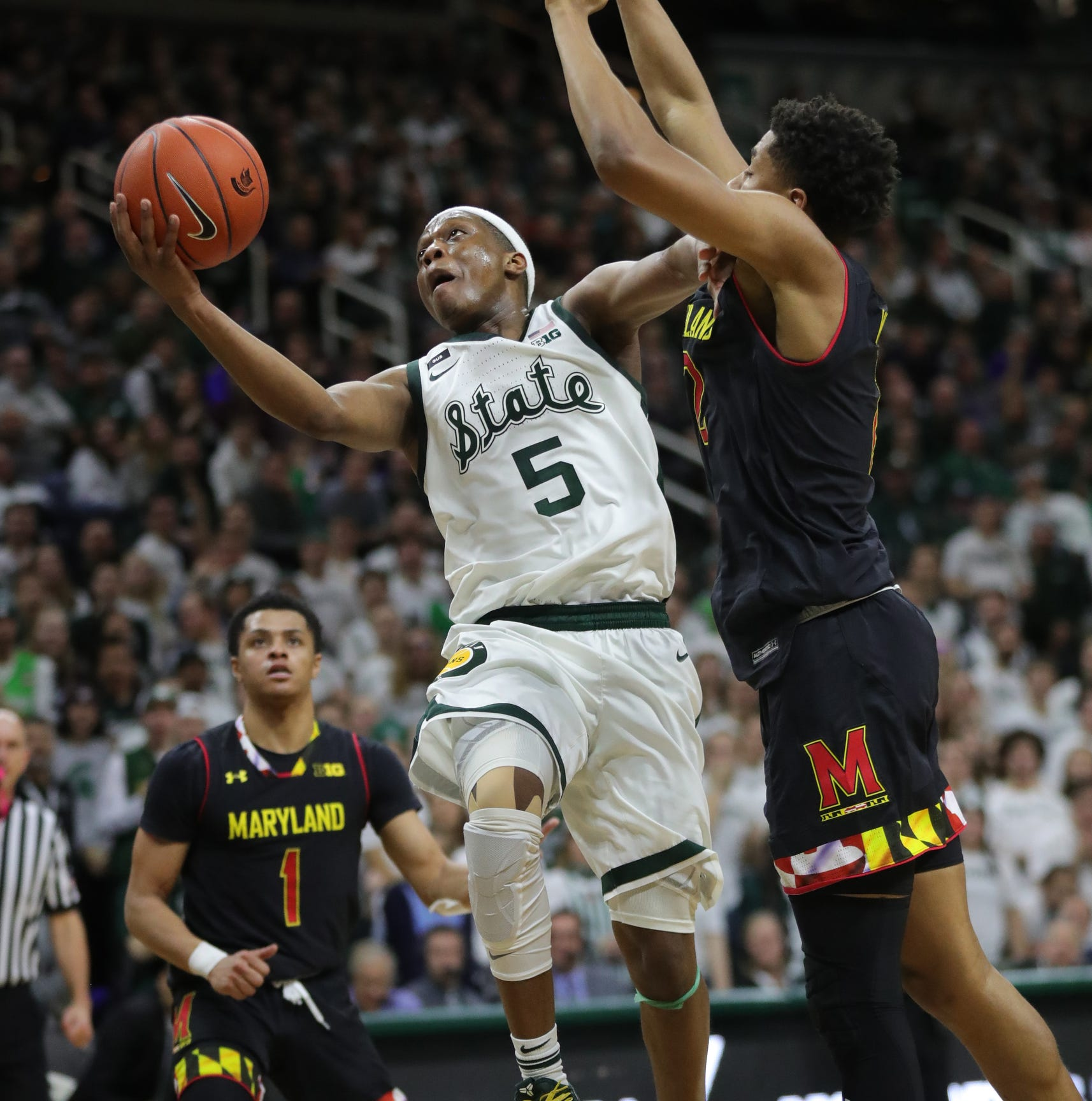 Michigan State's fastbreak 'lethal'; Izzo worries about it breaking down