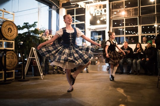 Traditional Scottish dancers will entertain the crowd at Friday's Burns Night Supper.
