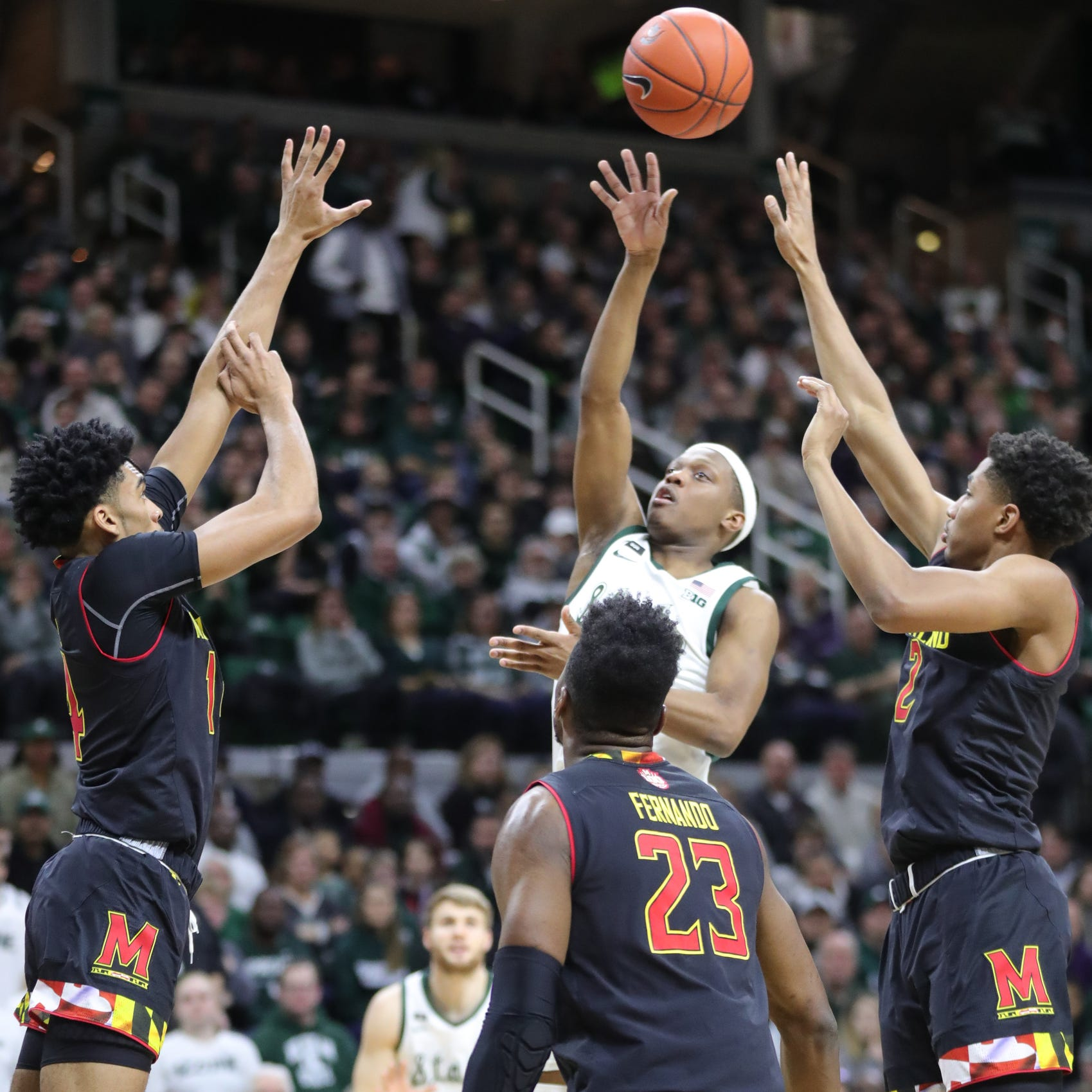 Michigan State topples Maryland despite stars struggling. Why it matters