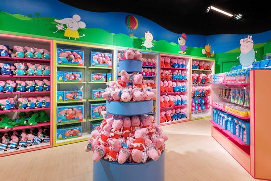Promotional image from Peppa Pig World of Play in Shanghai.