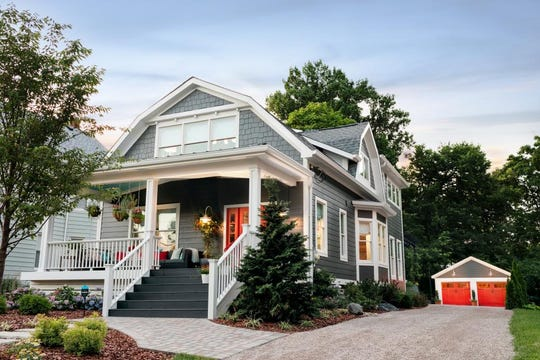 Lois Anderson's new home, HGTV's Urban Oasis 2018, is a 2,056-square foot  Dutch Colonial in a historic neighborhood in Cincinnati.