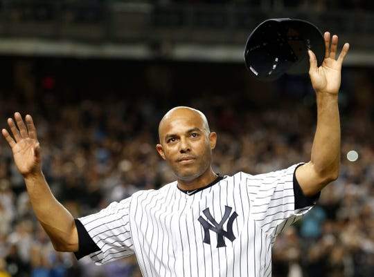 Mariano Rivera was a unanimous choice on the 2019 Hall of Fame ballot for the Baseball Writers' Association of America.
