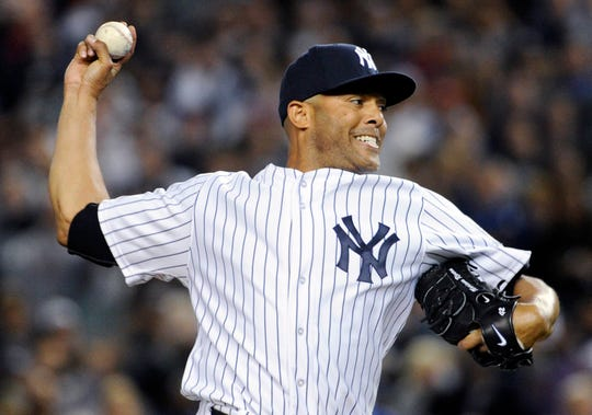 New York Yankees pitcher Mariano Rivera is baseball's all-time saves leader with 652.