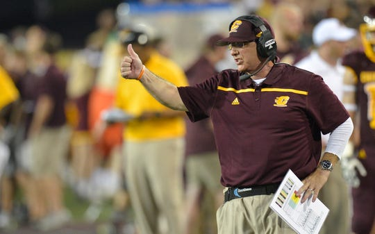 Former Central Michigan coach John Bonamego has been named the special-teams coordinator for the Detroit Lions.