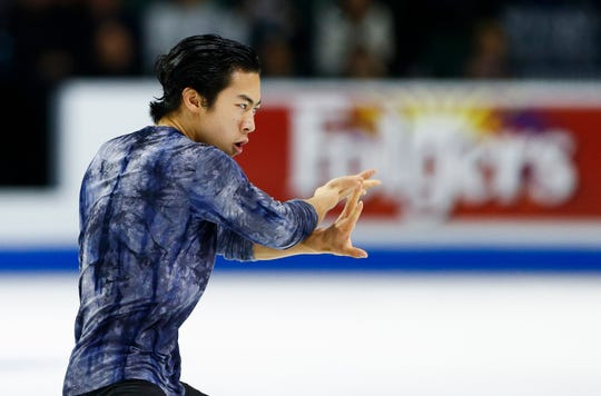 Nathan Chen is seeking his third straight U.S. championship.
