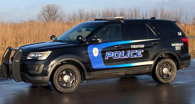 Trenton Police Department vehicle