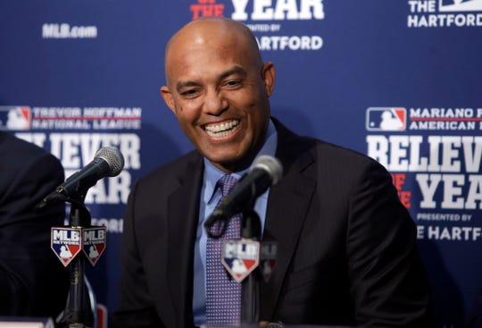 Former New York Yankees pitcher Mariano Rivera