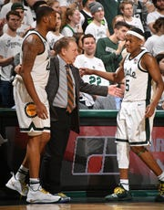 Coach Tom Izzo offered Nick Ward and Cassius Winston a day off from practice Tuesday, but Ward declined.