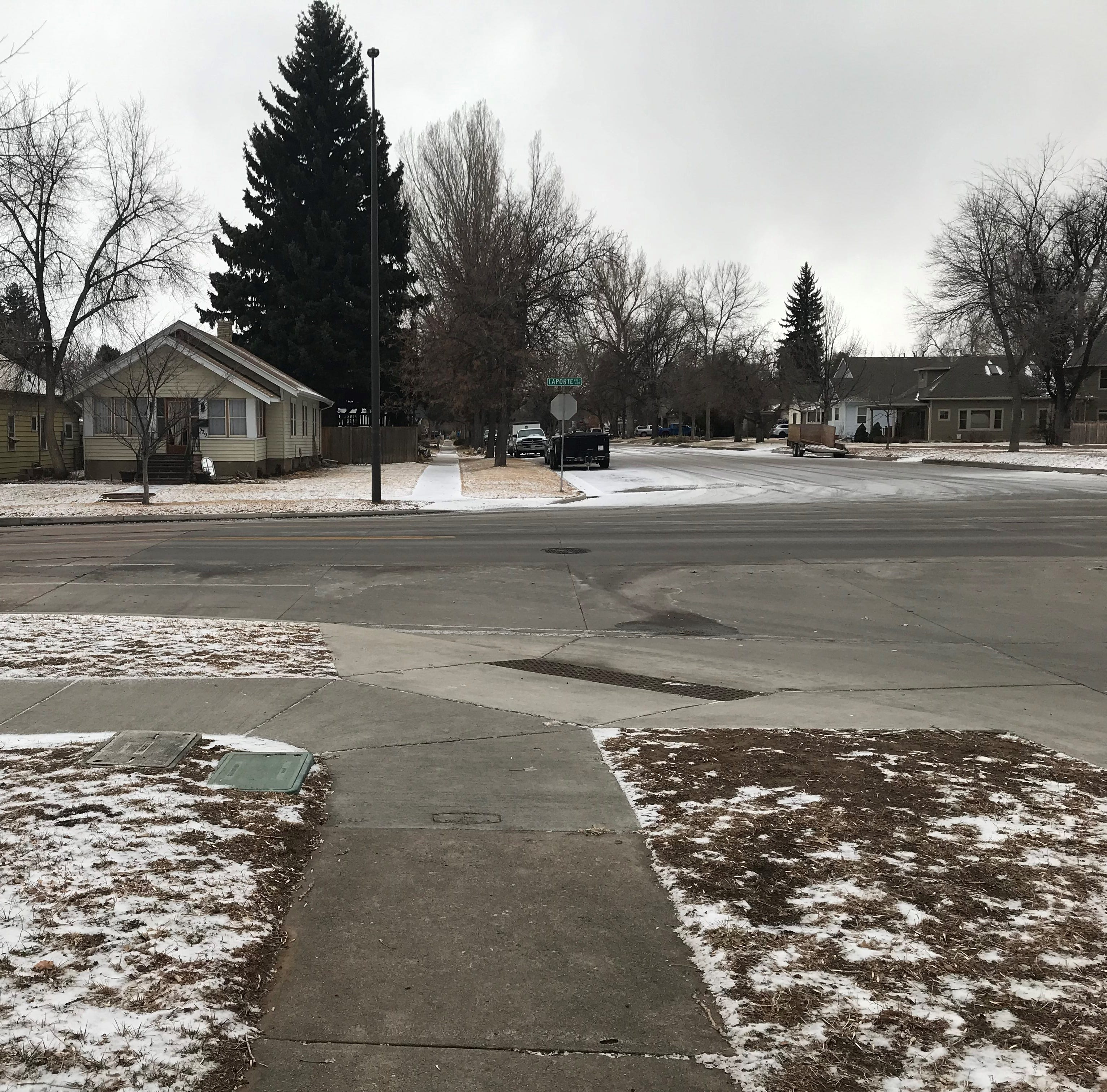 Fort Collins gets a dusting of snow, forecasts predict potential for more