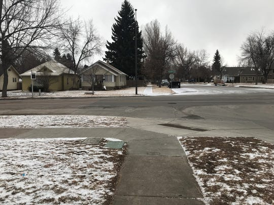 Fort Collins woke up to snow on Tuesday, Jan. 22, 2018.