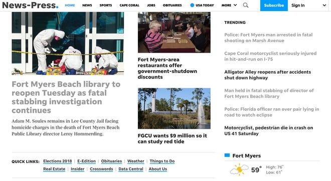 The News-Press website news-press.com.