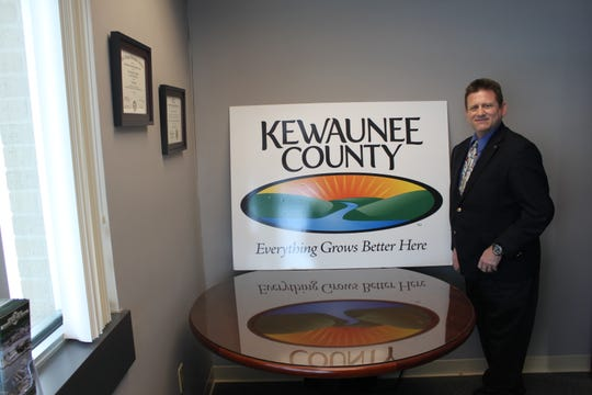 Richard Baker, new executive director of the Kewaunee County Economic Development Corp., said improving broadband services and tourism traffic are among his early goals for the county.