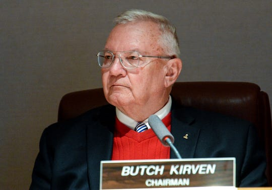 In this file photo, County Council Chairman Butch Kirven listens during a council meeting Tuesday, Jan. 22, 2019.