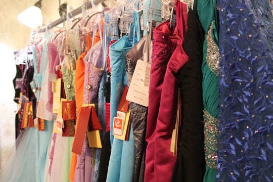 Miranda Buccholz said prom shoppers will pay no more than $109 for a dress at Inge's.