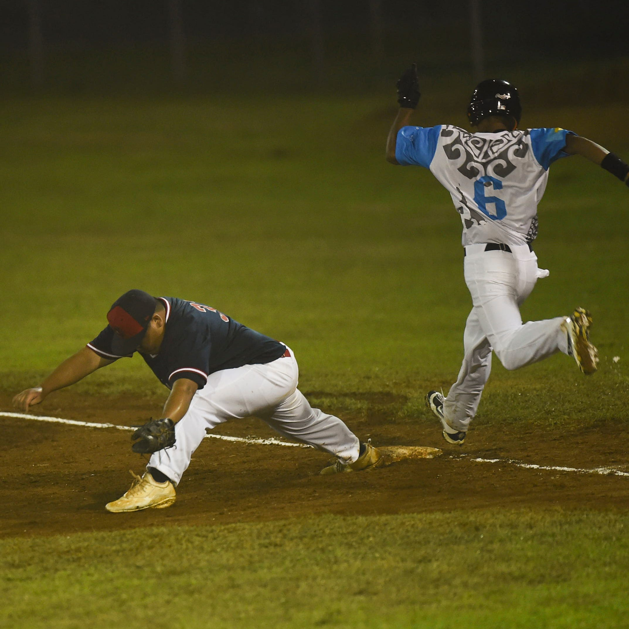 Palau leads Guam 1-0 in suspended contest
