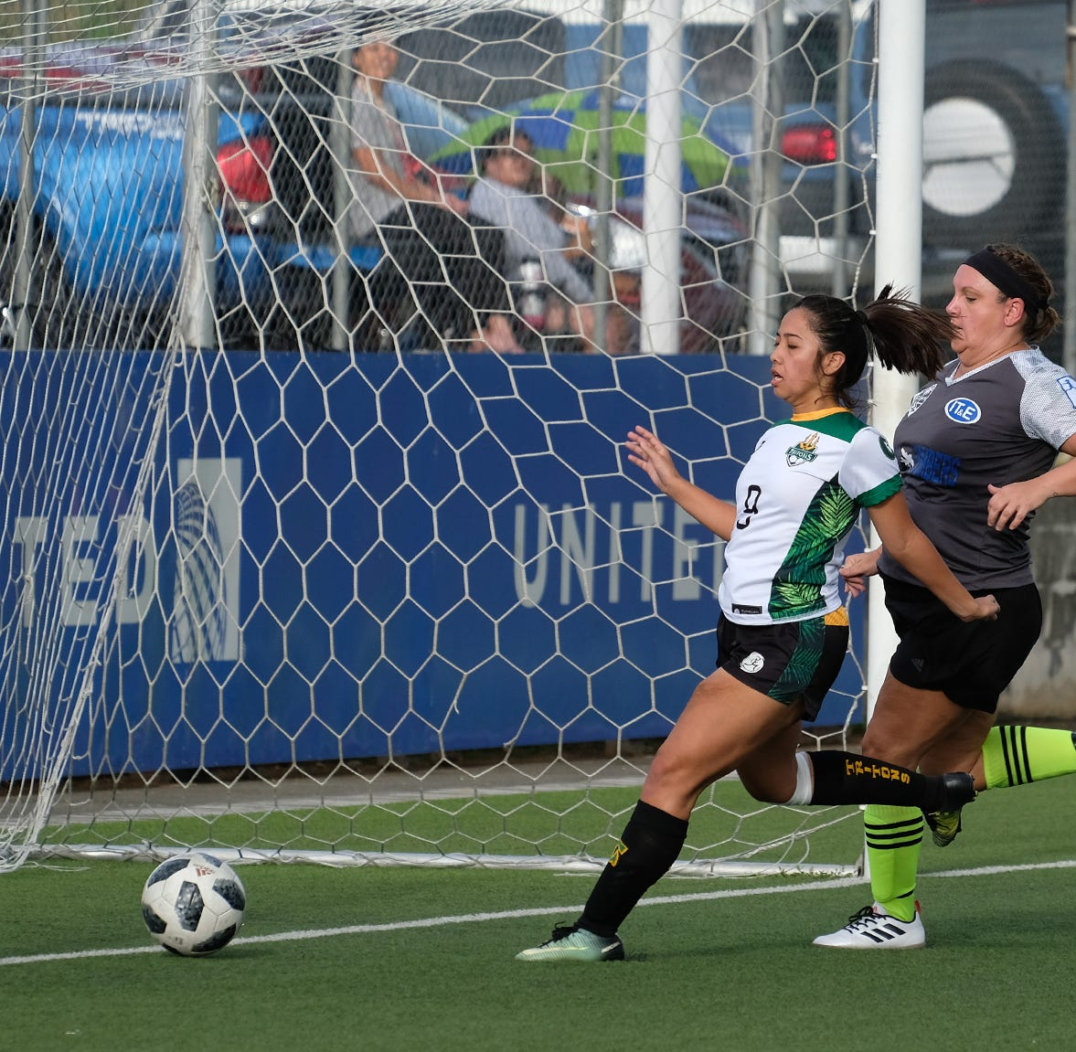 Islanders FC dominate Lady Tritons during soccer match