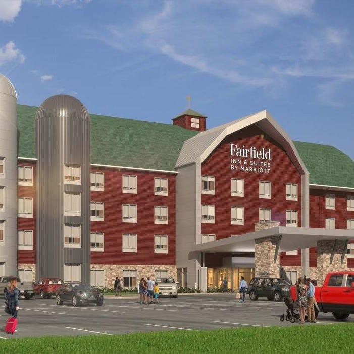 Eat ice cream overnight at Fair Oaks Farms' new barn-themed hotel