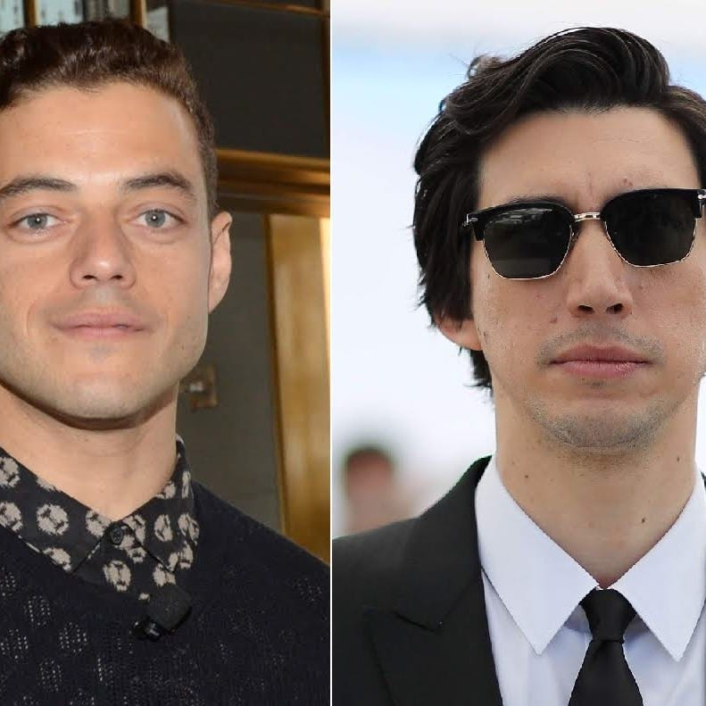 Rami Malek and Adam Driver are Oscar nominees with Indiana ties