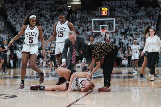 Mississippi State has the burden of replacing sophomore starter Chloe Bibby after she went down with a season-ending knee injury, but head coach Vic Schaefer said it might not be as hard as many think. Photo by Keith Warren